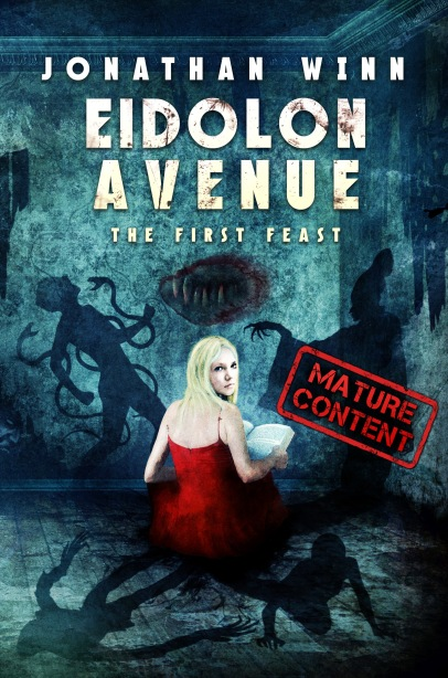 Eidolon Avenue front cover-WARNING